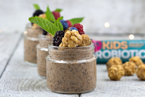 Cinnamon Chia Pudding! (v+gf)