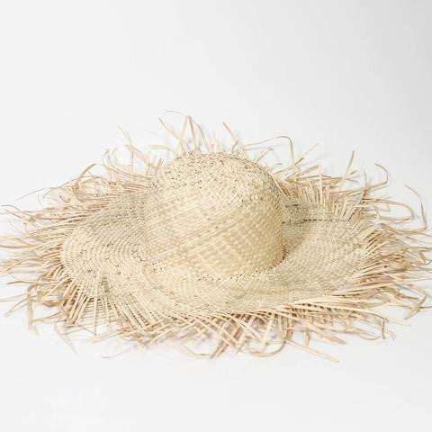 INDIGO LOVE | Plantation Palm Leaf Hat