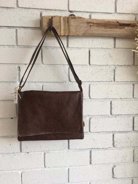 LEATHER SATCHEL | Afogato