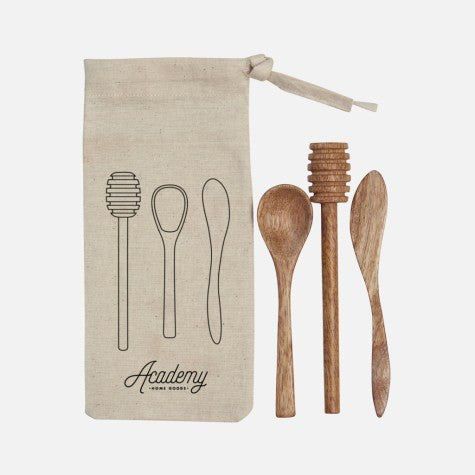 ACADEMY HOME GOODS | Elliot 3pce Mini Tool Set in Calico Pouch