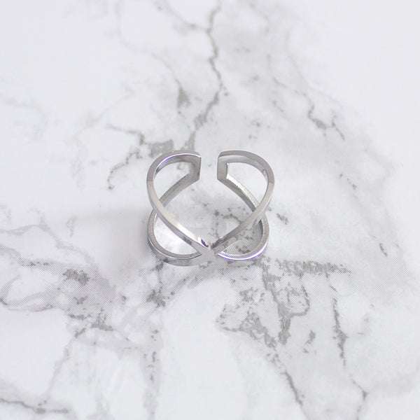 Nowhere Anywhere | Wanderlust + Co - X Double Ring