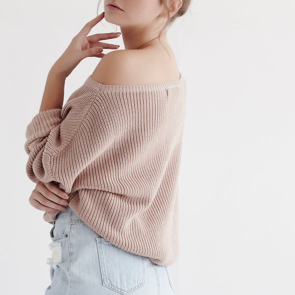 Fisher Off The Shoulder Top