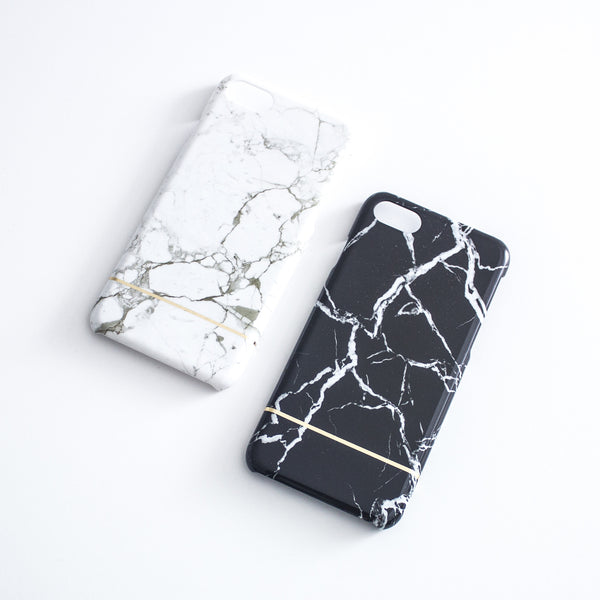 iPhone 7 Glossy Marble Case - Nowhere Anywhere