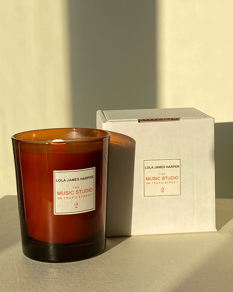 2 The Music Studio on Trufo Street Scented Candle
