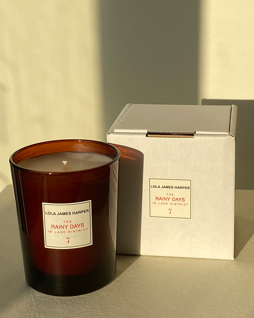 Lola James Harper Candle in 7 The Rainy Days in Lake District Scented Candle