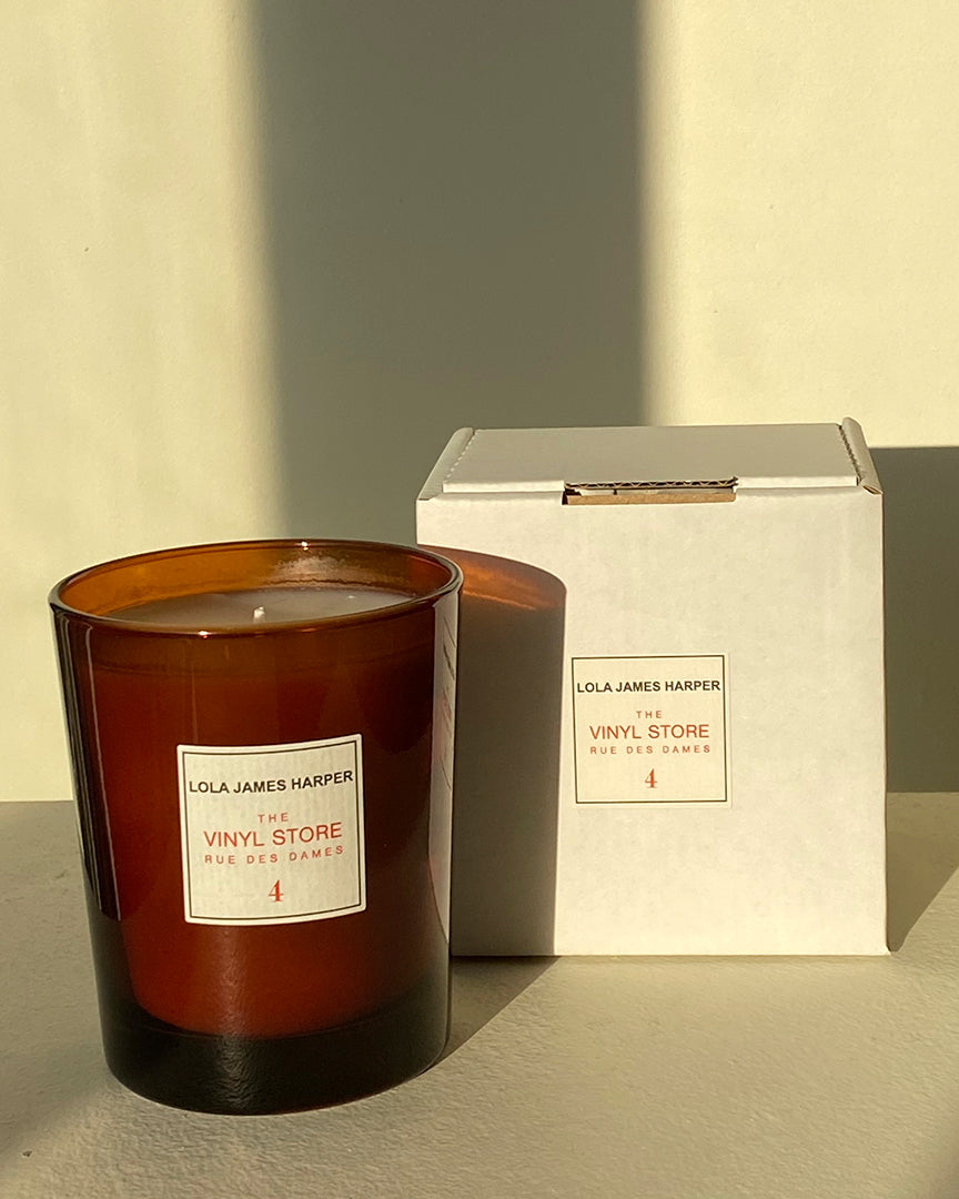 Lola James Harper Candle in 4 The Vinyl Store Rue des Dames Scented Candle