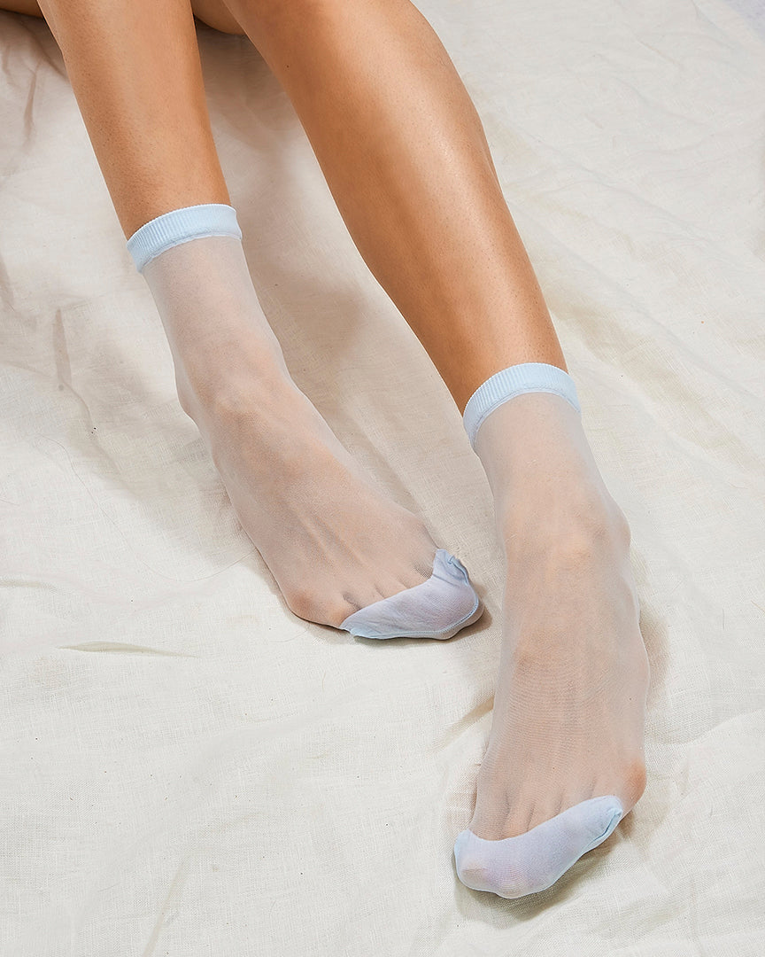 Ciel Opaque Toe Sock