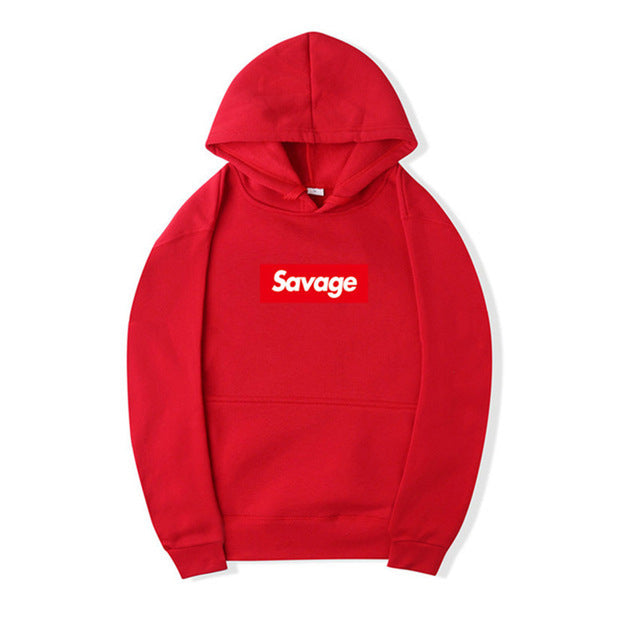 I'm So Savage Red Hoodie