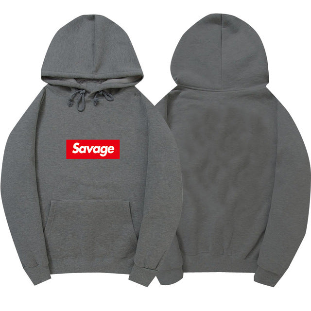 I'm So Savage Dark Gray Hoodie