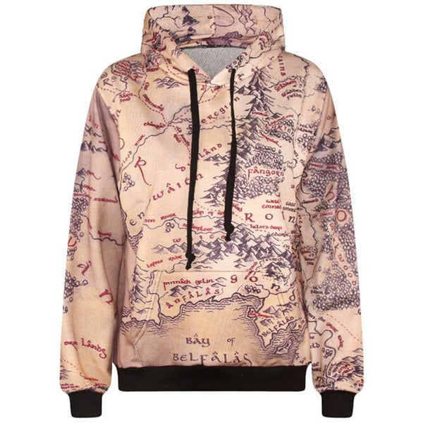 I'm So Mapped Out Hoodie