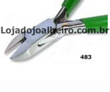 Alicate WIT 115mm corte lateral com mola