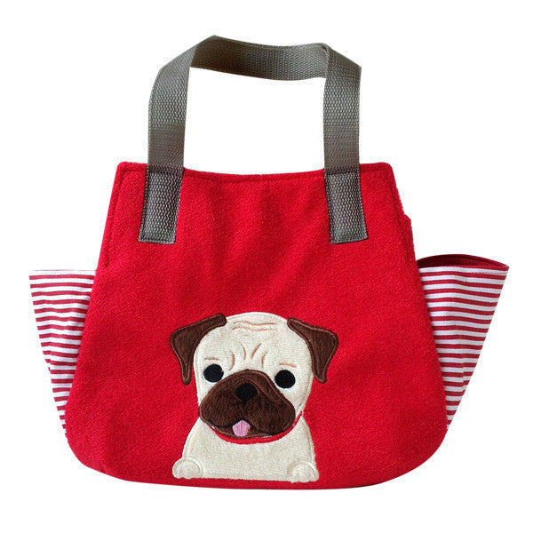 Pug Soft Tote Bag