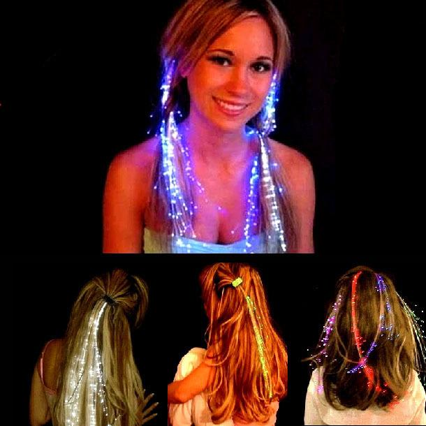 Raveflash led hair extensions cartvas raveflash led hair extensions pmusecretfo Gallery