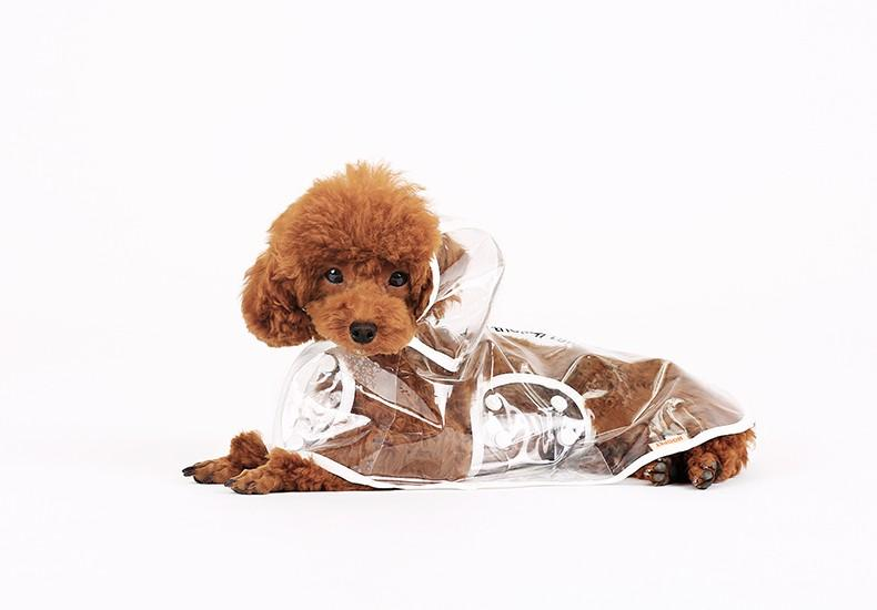 RainPup™ Transparent Dog Raincoats