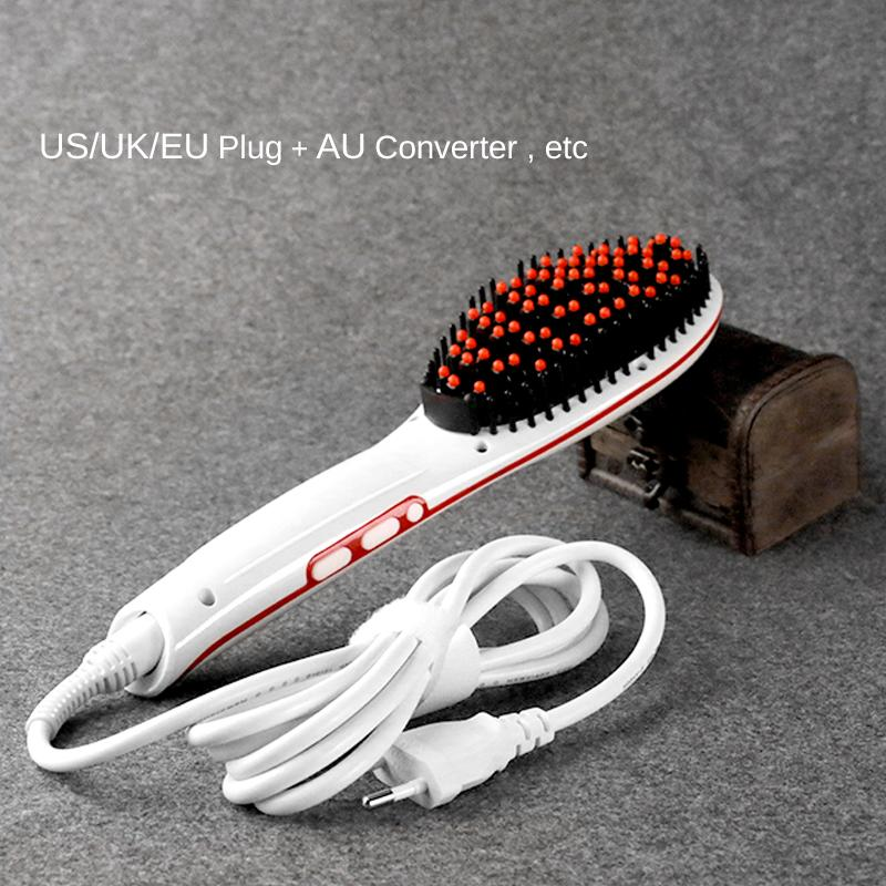 StraightBrush™ Hair Straightening Brush