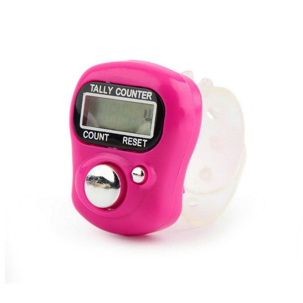 EasyCount™ Stitch/Row Knitting Digital Ring Counter