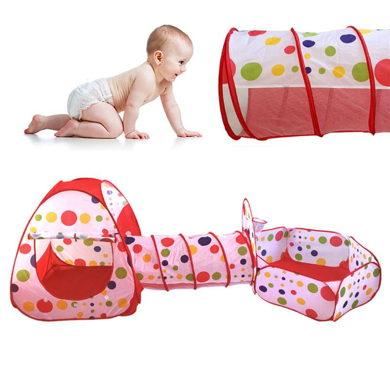 Portable 3-In-1 Baby/Toddler's Popup Play Tent