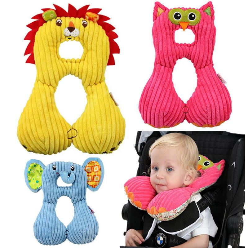 Baby Animal U-Pillow Headrest / Neck Protection