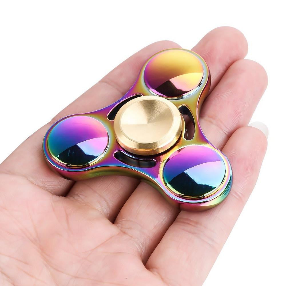 Shining Metal Fidget Spinner