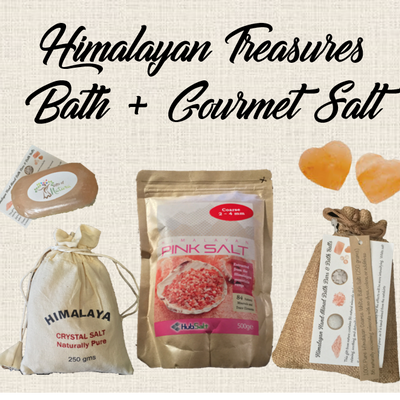 Himalayan Treasures Bath & Gourmet Salt
