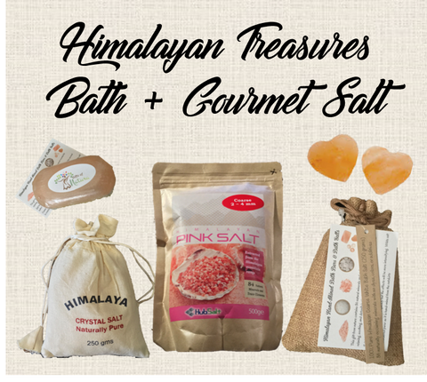 Himalayan Salt Crystal - Bath & Gourmet Salt