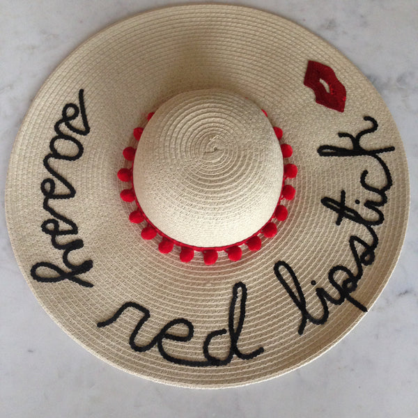 Custom Hat with Applique