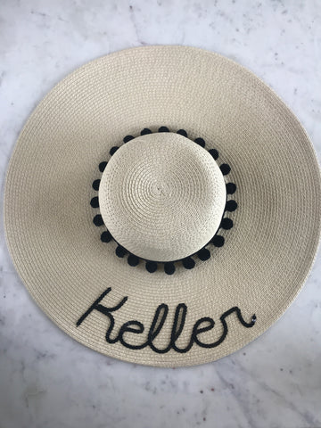 Sample - Natural Floppy Hat with Keller