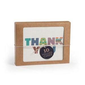 Strand Stripe Thank You (Set of 10)