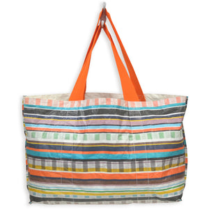 Write-On Celebration Tote Bag: Stripe