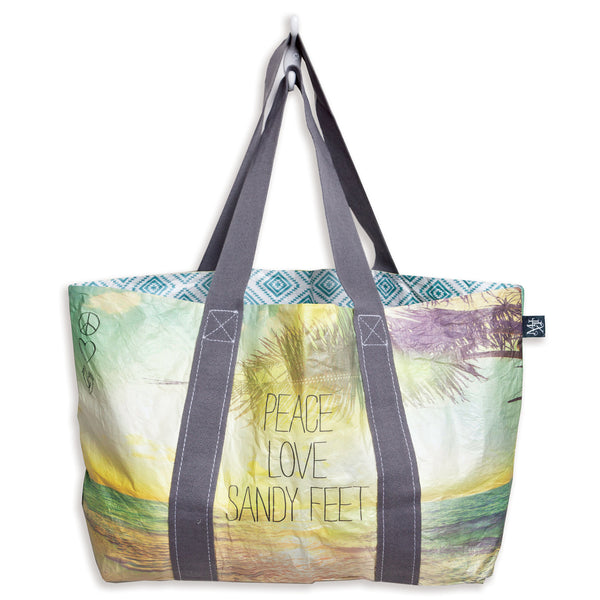 Quote Tote: Sandy Feet
