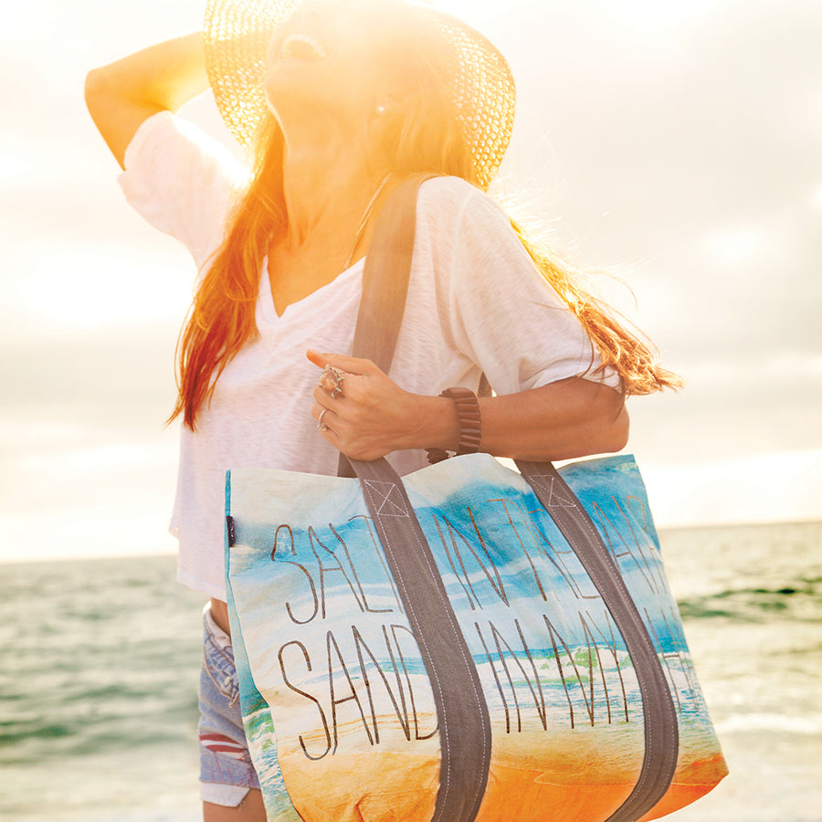 Quote Tote: Salt N' Sand