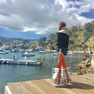 Type Tote: California Latitude Longitude
