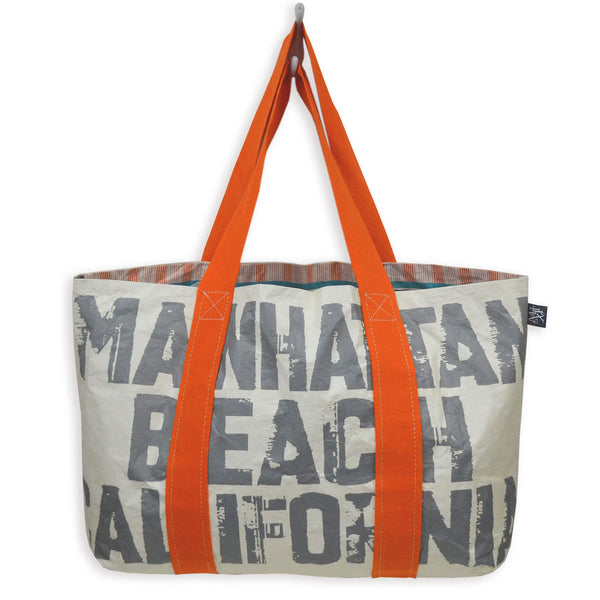 Type Tote: Manhattan Beach California