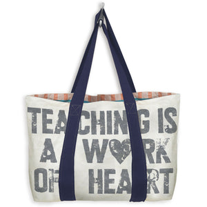 Type Tote: Teaching is a Work of Heart