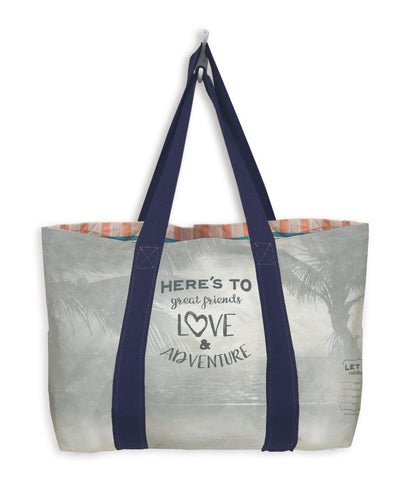 Write-On Celebration Tote Bag: Beach