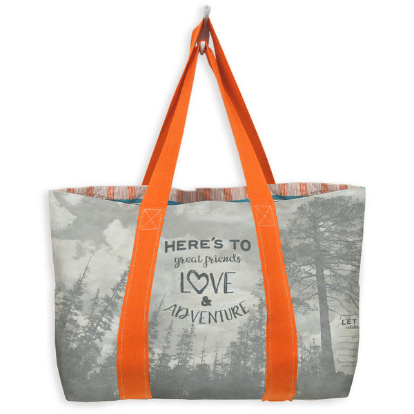 Write-On Celebration Tote Bag: Trees