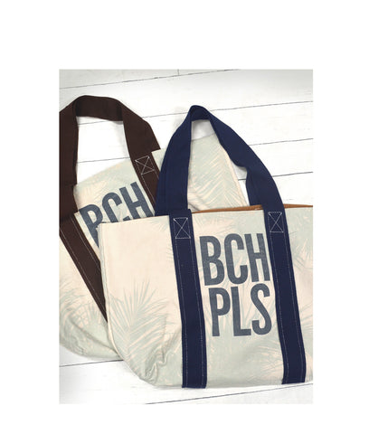 BCH PLS Canvas Reversible Tote