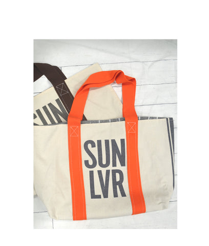 SUN LVR Canvas Reversible Tote