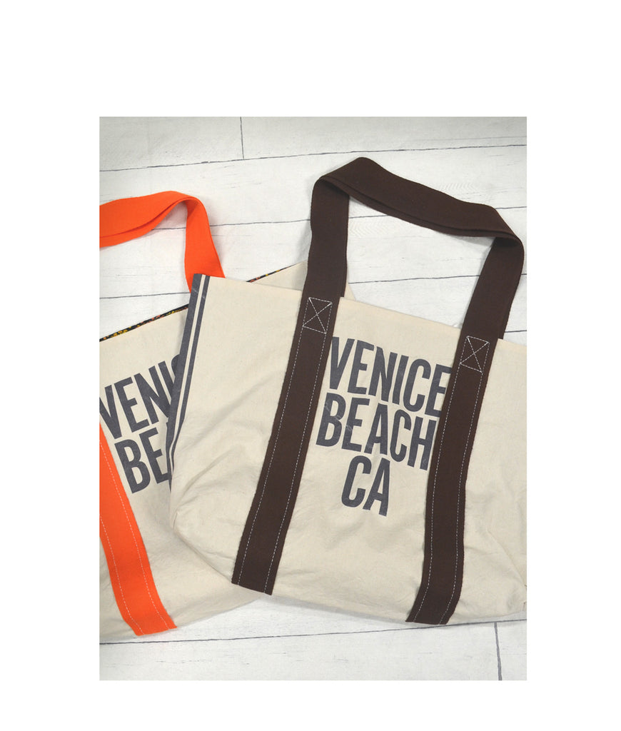 Venice Beach Canvas Reversible Tote