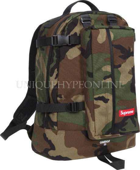 Supreme Backpack SS12 Woodland Camo