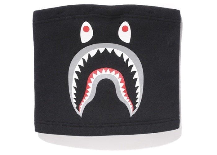 Bape Shark Neck Warmer Black