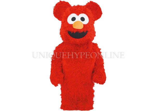 Bearbrick Elmo Costume 1000% Red 2019