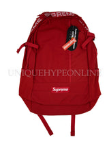 Supreme Backpack SS18 Red