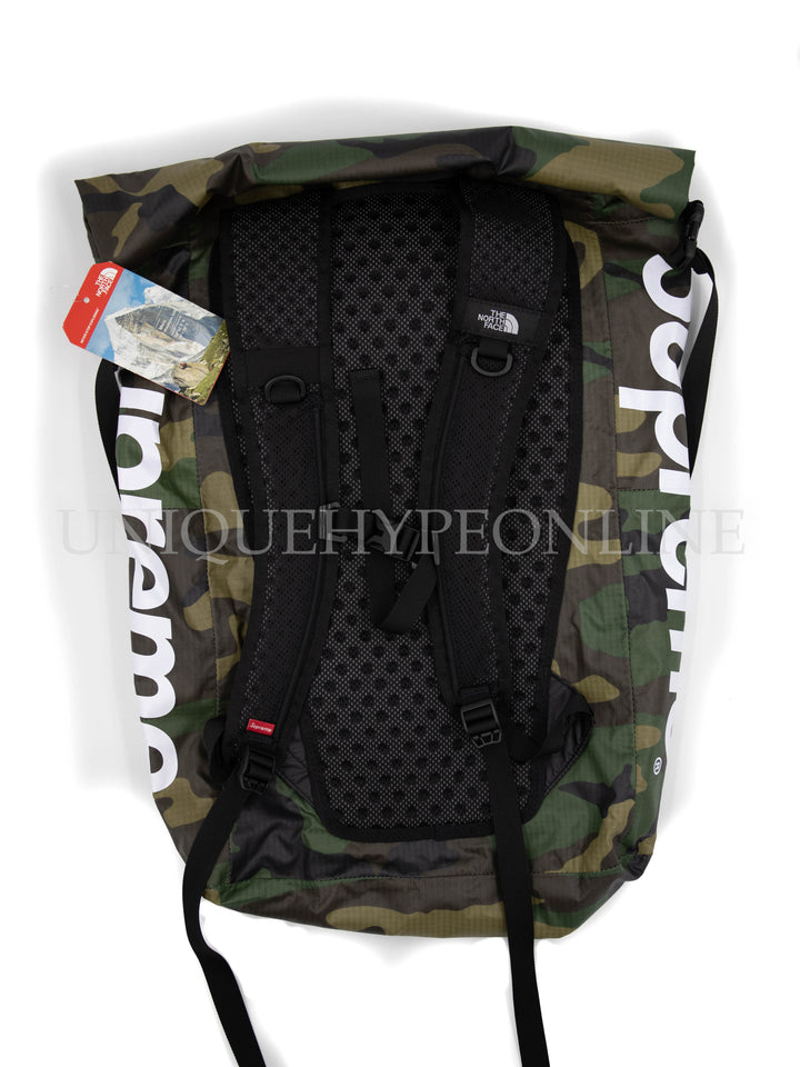f0169e39 ... Supreme The North Face Waterproof Backpack SS17 Woodland Camp