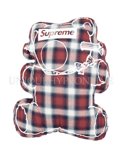 Supreme Undercover Bear Pillow SS15 Plaid