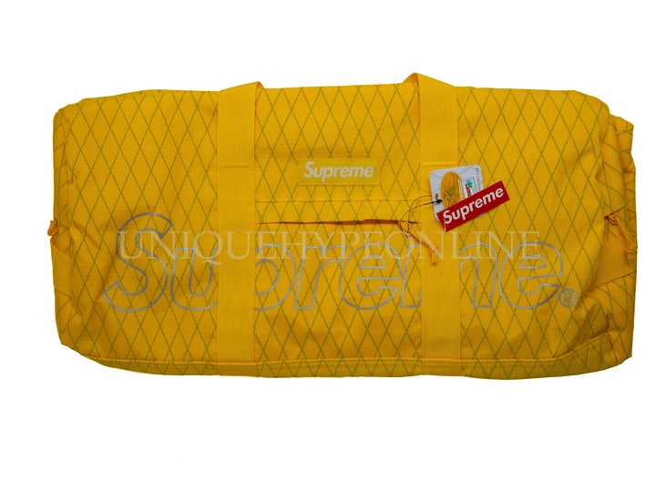 Supreme Duffle Bag FW18 Yellow