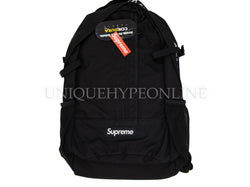 Supreme Backpack SS18 Black