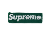 Supreme New Era Big Logo Headband FW18 Dark Green