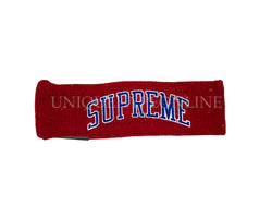Supreme New Era Sequin Arc Logo Headband FW18 Red