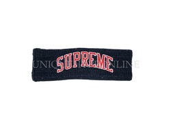 Supreme New Era Sequin Arc Logo Headband FW18 Navy